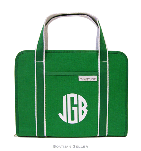Boatman Geller Carrie & Tuck NoteTotes Kelly Green