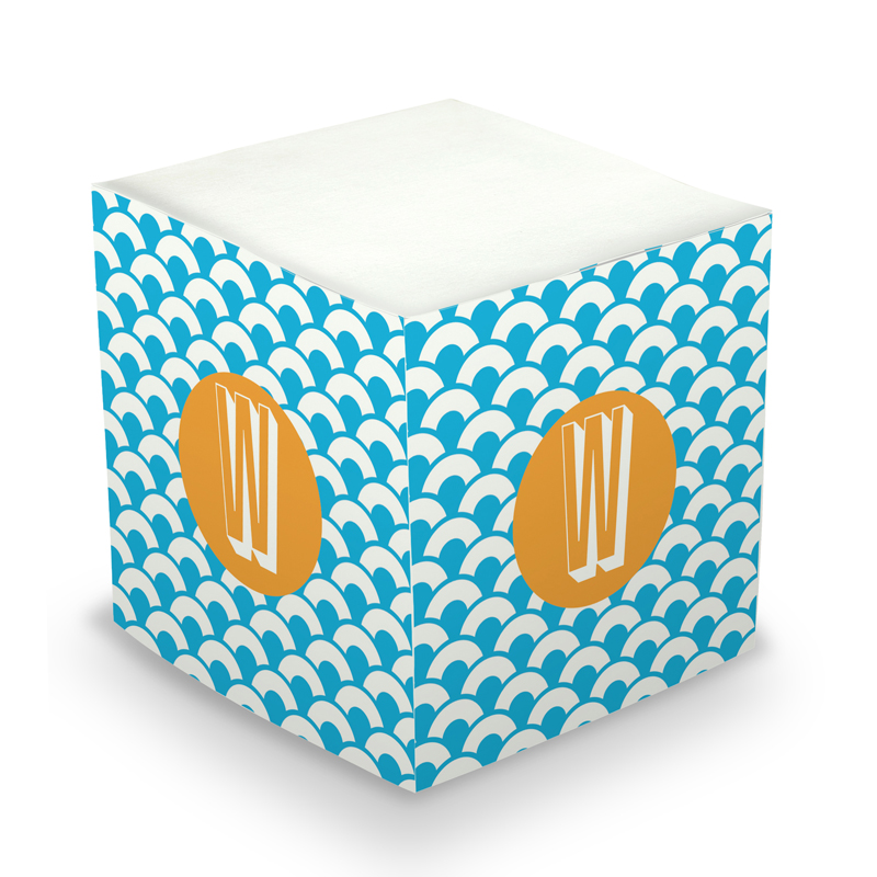 Sticky Memo Cube - Coins