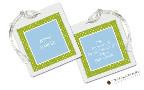 Stacy Claire Boyd Bag Tag (set of 2)  - Cool by the Pool