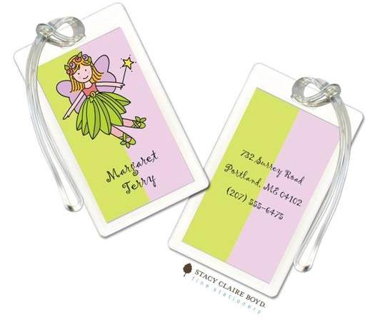 Stacy Claire Boyd Bag Tag (set of 2)  - Fairy