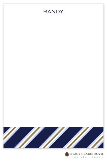 Stacy Claire Boyd Padded Stationery - Father's Stripe