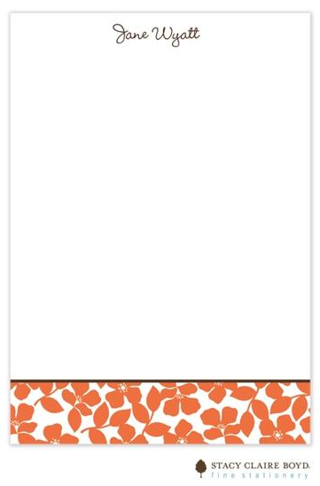 Stacy Claire Boyd Padded Stationery - Sunset Field of Flowers
