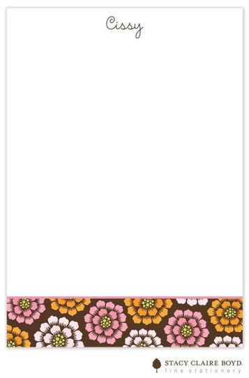 Stacy Claire Boyd Padded Stationery - Bittersweet Dahlias