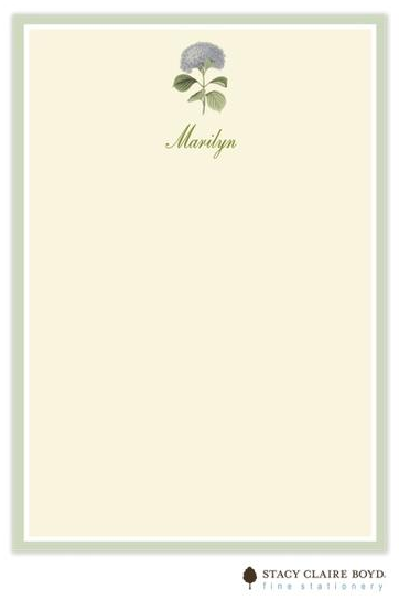 Stacy Claire Boyd Padded Stationery - Heavenly Hydrangeas