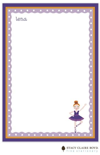 Stacy Claire Boyd Padded Stationery - Lena Ballerina
