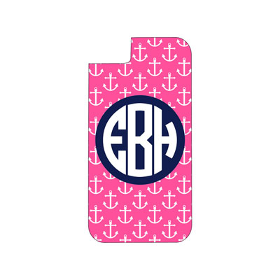 Hot Pink Anchor Phone Case