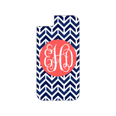 Navy Aztec Phone Case