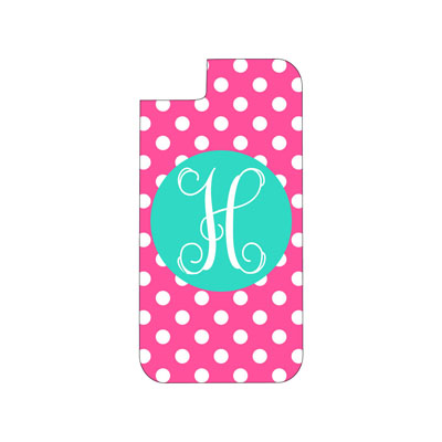 Hot Pink Dot Phone Case