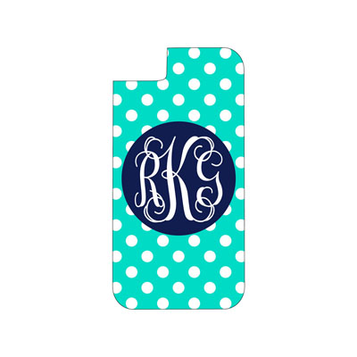 Mint Dot Phone Case