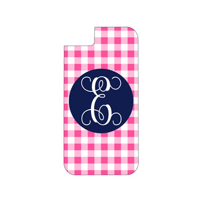 Hot Pink Gingham Phone Case