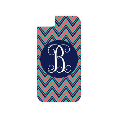 Navy Multi Chevron Phone Case