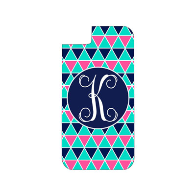 Mint Multi Triangle Phone Case