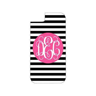 Black Stripe Phone Case