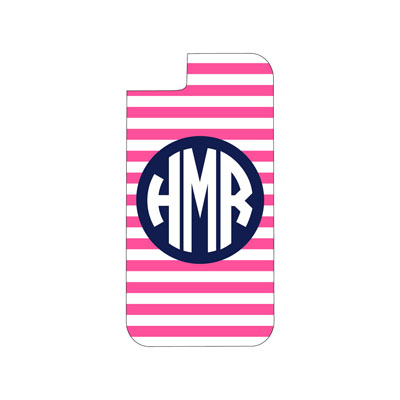 Hot Pink Stripe Phone Case