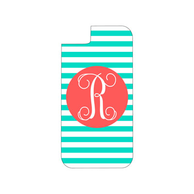 Mint Stripe Phone Case