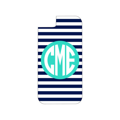 Navy Stripe Phone Case