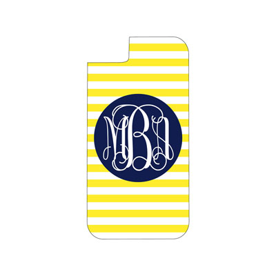 Yellow Stripe Phone Case