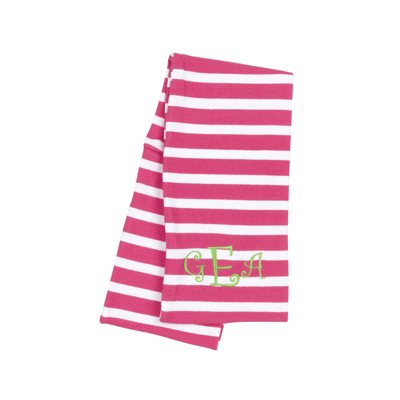 Kids Hot Pink Stripe Infinity Scarf