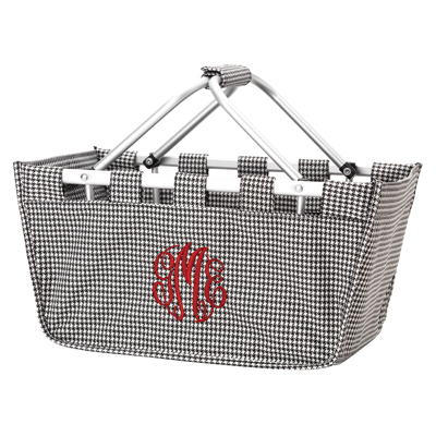 Market Tote - Houndstooth