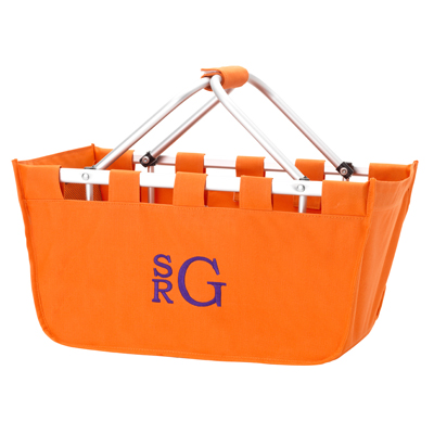 Market Tote - Orange